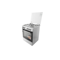 Simfer 6312NEI Cooker 3 Gas +1 Electric - Stainless Steel