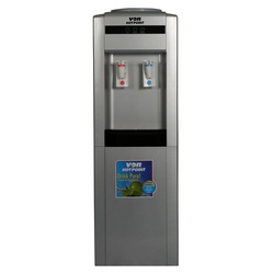 Von VADA2110S Water Dispenser Hot & Normal with Cabinet - Silver/Black