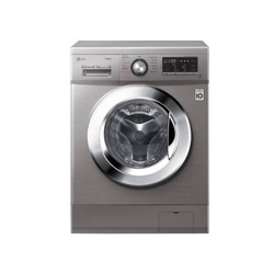 LG FH4G6VDGG6 Front Load Washer Dryer, 9/5 KG - Silver